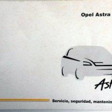 Coches y Motocicletas: MANUAL INSTRUCCIONES OFICIAL OPEL ASTRA. DEL AÑO 1998.. Lote 81686116