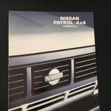 Coches y Motocicletas: FOLLETO CATALOGO PUBLICIDAD ORIGINAL NISSAN PATROL 4X4 COMERCIAL 1991. Lote 81865492