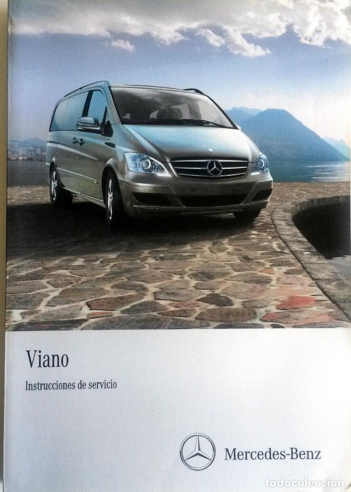 manual instrucciones original mercedes benz via comprar cat logos rh todocoleccion net Mercedes Viano 8 Pax manual usuario mercedes viano pdf