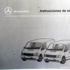Coches y Motocicletas: MANUAL INSTRUCCIONES ORIGINAL MERCEDES-BENZ 108D - 110D - 113. . Lote 82020388