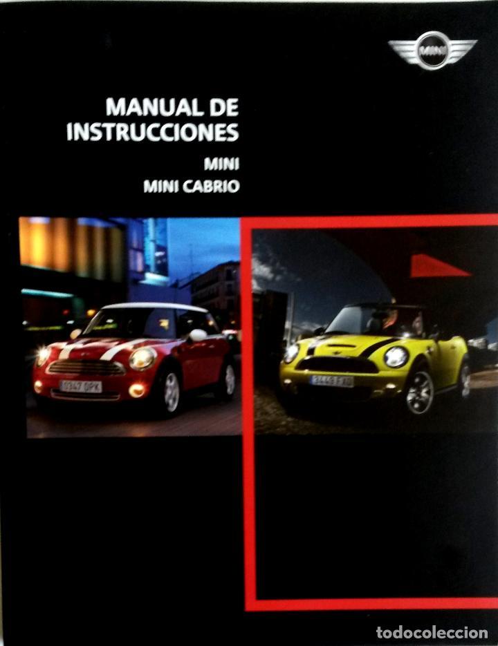 manual instrucciones original mini mini cabri comprar cat logos rh todocoleccion net manuale di istruzioni mini cooper Mini Cooper D Model