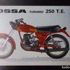 Coches y Motocicletas: CATÁLOGO FOLLETO PUBLICITARIO OSSA TURISMO 250 TE. Lote 82025848
