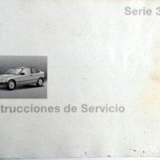 Coches y Motocicletas: MANUAL INSTRUCCIONES ORIGINAL BMW. AÑO 1996. - 316I COMPACT, 318TI COMPACT, 318TDS COMPACT.. Lote 82026380