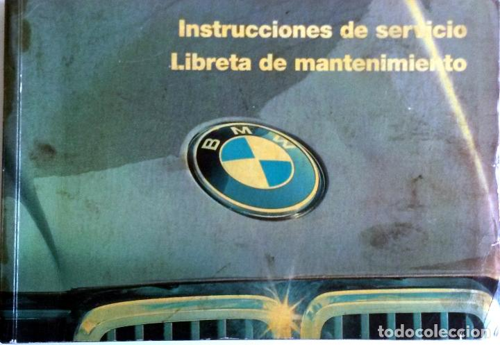 MANUAL INSTRUCCIONES ORIGINAL BMW. AÑO 1985. SERIE 3 - CARROCERÍA E-30. (Coches y Motocicletas Antiguas y Clásicas - Catálogos, Publicidad y Libros de mecánica)