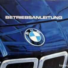 Coches y Motocicletas: MANUAL INSTRUCCIONES ORIGINAL BMW. AÑO 1982.- 728I, 732I, 735I, 745I. IDIOMA: ALEMÁN.. Lote 82031036
