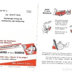 Coches y Motocicletas: ANTIGUO SOBRE PUBLICITARIO DE LAS GUIAS MICHELIN. PUBLICIDAD. SIN USAR.. Lote 82285640