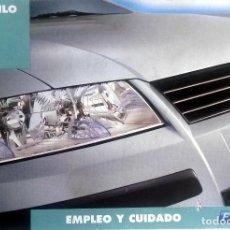Coches y Motocicletas: MANUAL INSTRUCCIONES ORIGINAL FIAT STILO. . Lote 82326972