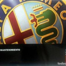 Coches y Motocicletas: MANUAL INSTRUCCIONES ORIGINAL ALFA ROMEO - ALFA 147. . Lote 82327124