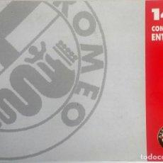 Coches y Motocicletas: MANUAL INSTRUCCIONES ORIGINAL ALFA ROMEO - ALFA 146. IDIOMA: FRANCÉS.. Lote 82327240
