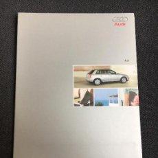 Coches y Motocicletas: FOLLETO CATALOGO PUBLICIDAD ORIGINAL AUDI A3 2001. Lote 82619676
