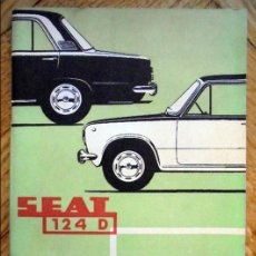 Coches y Motocicletas: SEAT. 124 D. USO Y ENTRETENIMIENTO. BARCELONA, 1971.. Lote 82629068