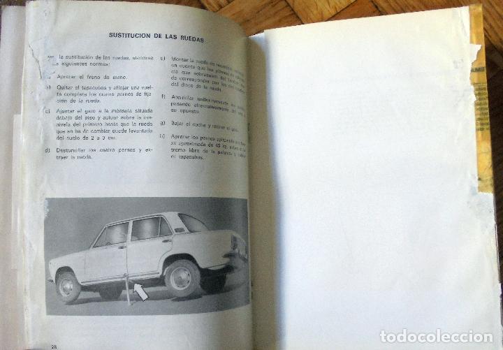 Coches y Motocicletas: SEAT. 124 D. USO Y ENTRETENIMIENTO. BARCELONA, 1971. - Foto 2 - 82629068