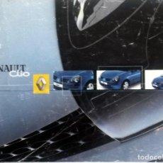 Coches y Motocicletas: MANUAL INSTRUCCIONES ORIGINAL RENAULT CLIO - AÑO 2001. . Lote 82645588