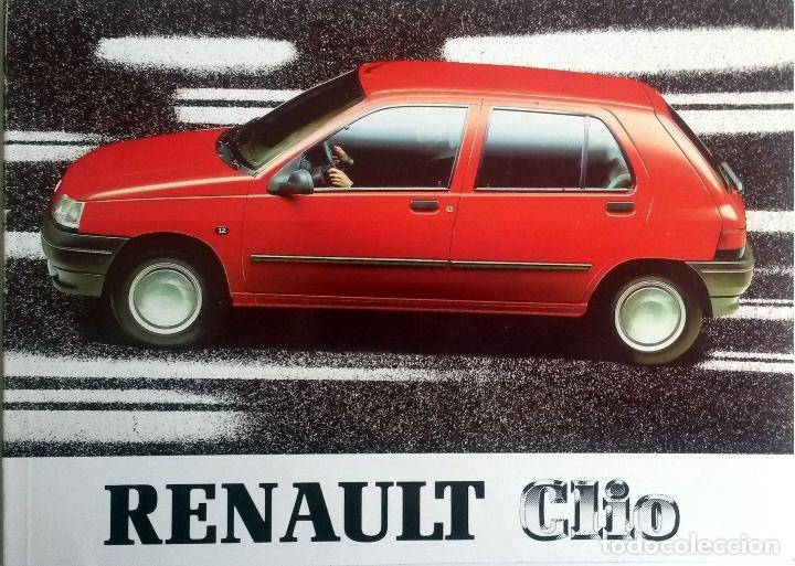 MANUAL INSTRUCCIONES ORIGINAL RENAULT CLIO - AÑO 1990. (Coches y Motocicletas Antiguas y Clásicas - Catálogos, Publicidad y Libros de mecánica)