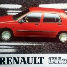 Coches y Motocicletas: MANUAL INSTRUCCIONES ORIGINAL RENAULT CLIO - AÑO 1990. . Lote 82646232