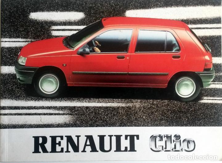 MANUAL INSTRUCCIONES ORIGINAL RENAULT CLIO - AÑO 1991. (Coches y Motocicletas Antiguas y Clásicas - Catálogos, Publicidad y Libros de mecánica)