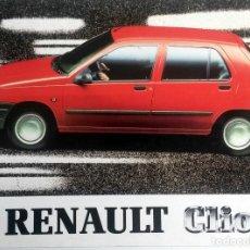 Coches y Motocicletas: MANUAL INSTRUCCIONES ORIGINAL RENAULT CLIO - AÑO 1991. . Lote 118141219