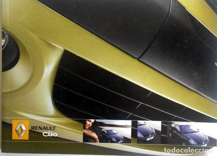 MANUAL INSTRUCCIONES ORIGINAL RENAULT CLIO - AÑO 2005. (Coches y Motocicletas Antiguas y Clásicas - Catálogos, Publicidad y Libros de mecánica)