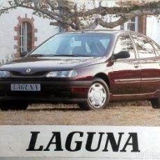 Coches y Motocicletas: MANUAL INSTRUCCIONES ORIGINAL RENAULT LAGUNA - AÑO 1995. . Lote 82647096
