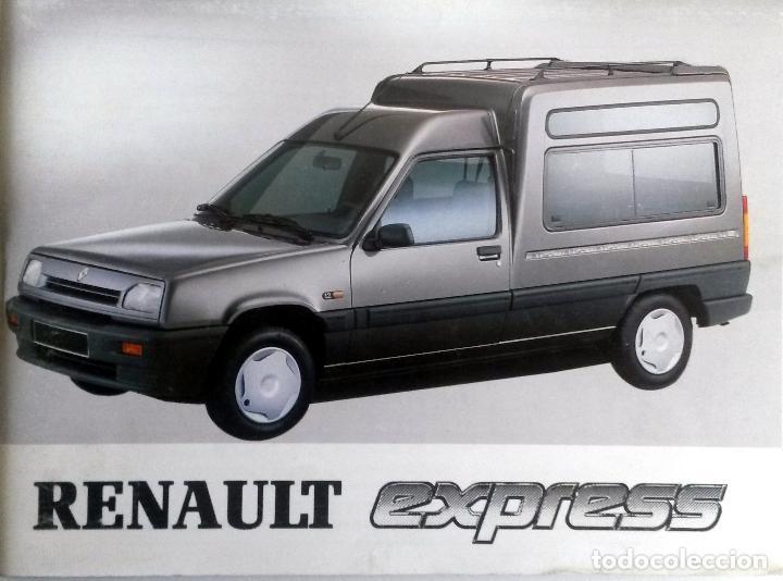 MANUAL INSTRUCCIONES ORIGINAL RENAULT EXPRESS - AÑO 1994. (Coches y Motocicletas Antiguas y Clásicas - Catálogos, Publicidad y Libros de mecánica)