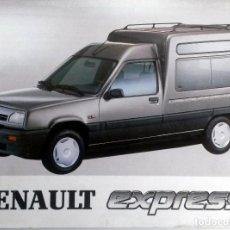 Coches y Motocicletas: MANUAL INSTRUCCIONES ORIGINAL RENAULT EXPRESS - AÑO 1994. . Lote 82648384