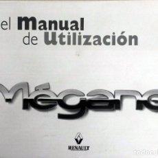 Coches y Motocicletas: MANUAL INSTRUCCIONES ORIGINAL RENAULT MÉGANE - AÑO 1998.. Lote 82652160