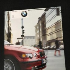 Coches y Motocicletas: FOLLETO CATALOGO PUBLICIDAD ORIGINAL BMW COMPACT 316TI 318TI 325TI 320TD 2002. Lote 82714144