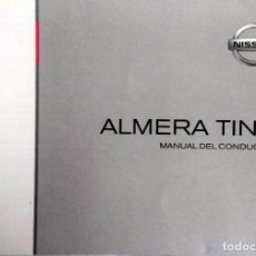 Coches y Motocicletas: CATÁLOGO ORIGINAL NISSAN ALMERA TINO - AÑO 2003.. Lote 82878544