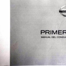 Coches y Motocicletas: CATÁLOGO ORIGINAL NISSAN PRIMERA - AÑO 2001.. Lote 82879632