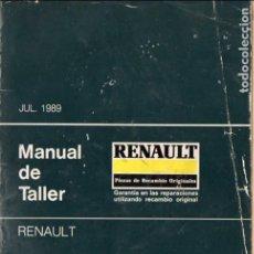 Coches y Motocicletas: MANUAL RENAULT DE TALLER 1989 GUÍA DE TASACIONES - 253 PÁGINAS. Lote 83145760