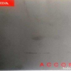 Coches y Motocicletas: CATÁLOGO ORIGINAL HONDA ACCORD - AÑO 1996.. Lote 83308568