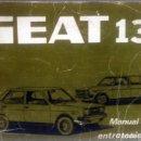 Coches y Motocicletas: MANUAL DE INSTRUCCIONES ORIGINAL SEAT 131. AÑO 1976.. Lote 84042264