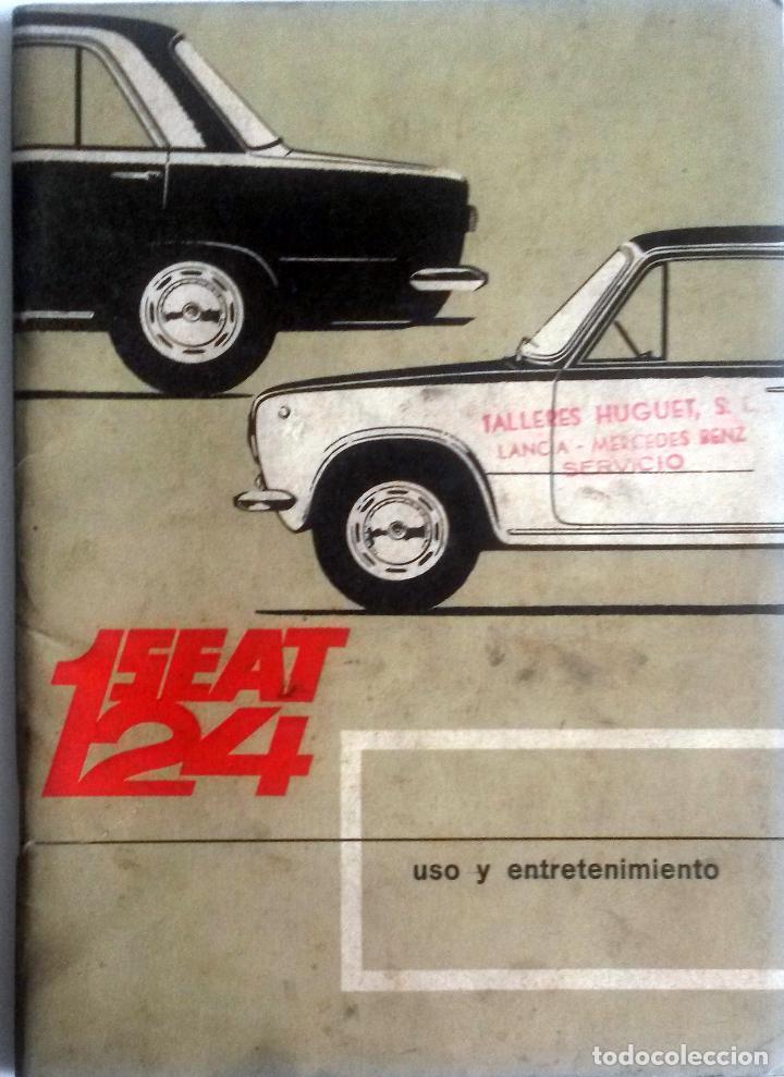 CATÁLOGO ORIGINAL SEAT 124. AÑO 1968. (Coches y Motocicletas Antiguas y Clásicas - Catálogos, Publicidad y Libros de mecánica)