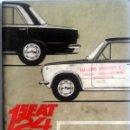 Coches y Motocicletas: CATÁLOGO ORIGINAL SEAT 124. AÑO 1968.. Lote 84042616