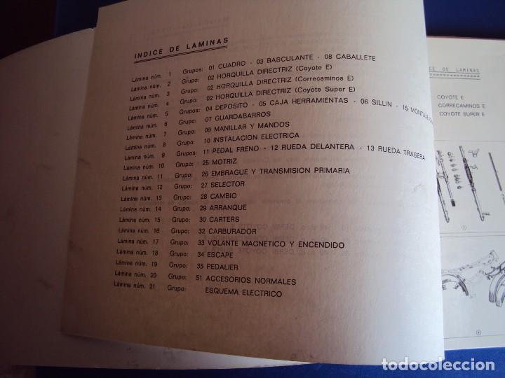 Coches y Motocicletas: (CAT-170420)CATALOGO PIEZAS DE RECAMBIO DERBI COYOTE - Foto 3 - 156013736