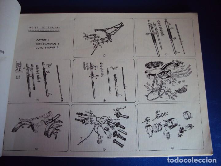 Coches y Motocicletas: (CAT-170420)CATALOGO PIEZAS DE RECAMBIO DERBI COYOTE - Foto 4 - 156013736