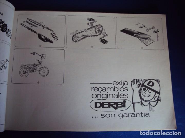 Coches y Motocicletas: (CAT-170420)CATALOGO PIEZAS DE RECAMBIO DERBI COYOTE - Foto 5 - 156013736