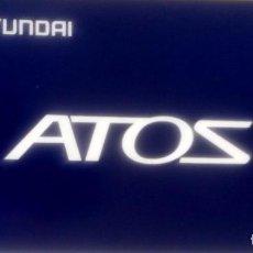 Coches y Motocicletas: MANUAL INSTRUCCIONES ORIGINAL HYUNDAI ATOS. AÑO 1999.. Lote 84209676