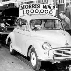 Coches y Motocicletas: MORRIS MINOR (SERIE MM) ORIGINAL PART LIST.. Lote 84356048