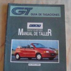 Coches y Motocicletas: (TC-20) GUIA DE TASACIONES MANUAL DE TALLER FIAT PUNTO CABRIO 1995. Lote 84561632