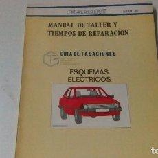 Coches y Motocicletas: 1 LIBRO DE MECÁNICA DEL FORD ESCORT DEL AÑO 82. Lote 84660932