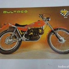 Coches y Motocicletas: BULTACO SHERPA T 250. FOLLETO PUBLICIDAD ORIGINAL. IMPECABLE. Lote 84682220
