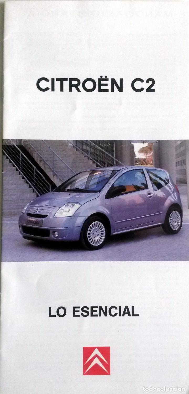 manual instrucciones original citro n c2 a o 2 comprar cat logos rh todocoleccion net 2006 Citroen C2 Citroen C1