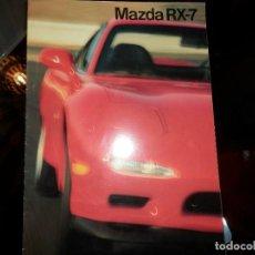 Coches y Motocicletas: CATALOGO MAZDA RX-7. Lote 84876488