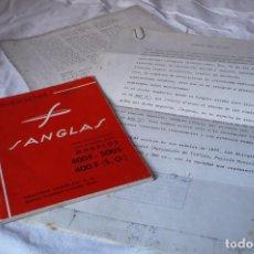 Coches y Motocicletas - Manual de instrucciones original SANGLAS 400F,500S,400F (S.O) - 85845972