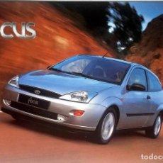 Coches y Motocicletas: CATÁLOGO ORIGINAL FORD FOCUS. AÑO 1999.. Lote 86022000