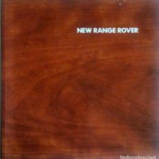 Coches y Motocicletas: CATÁLOGO ORIGINAL NEW RANGE ROVER. AÑO 2001.. Lote 86025448