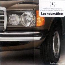 Coches y Motocicletas: CATÁLOGO ORIGINAL NEUMÁTICOS PARA MERCEDES-BENZ. . Lote 86031252