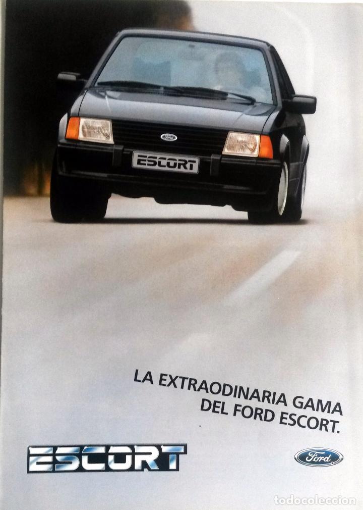 CATÁLOGO ORIGINAL GAMA EXTRAORDINARIA FORD ESCORT. (Coches y Motocicletas Antiguas y Clásicas - Catálogos, Publicidad y Libros de mecánica)