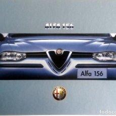 Coches y Motocicletas: LIBRO ALFA 156. - OFICIAL ALFA ROMEO. AÑO 1997.. Lote 86126888